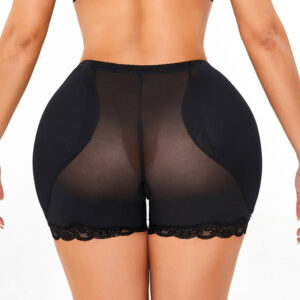 Women Low Waist Underwear Sponge Pads Body Shapers Hips Up Belly Slim Fake Ass Pants Padded Shapewear Panties Hip Pads Plus Size