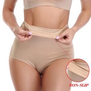 Seamless High Waist Butt Enhancer Comfortable Women Shaping Panties