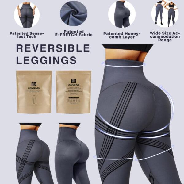 High Waist Seamless Butt Lifter Belly Control Women Training Pant