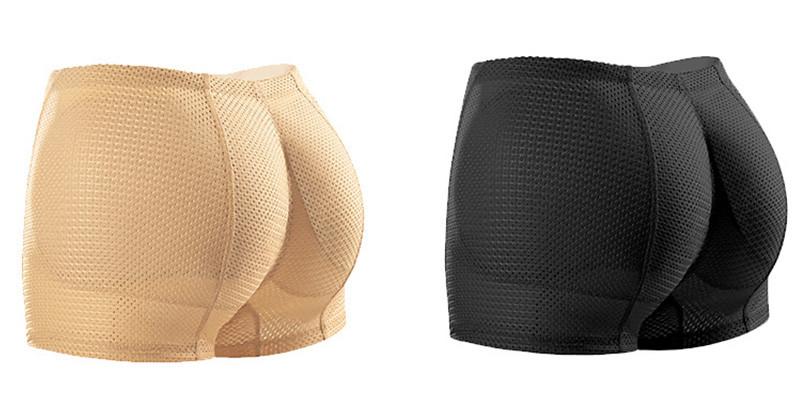 Womens Butt Lifter Seamless Hip Enhancer Underwear Booty Pads Shaper Boyshorts Breathable Booty Shaper Body Shaper