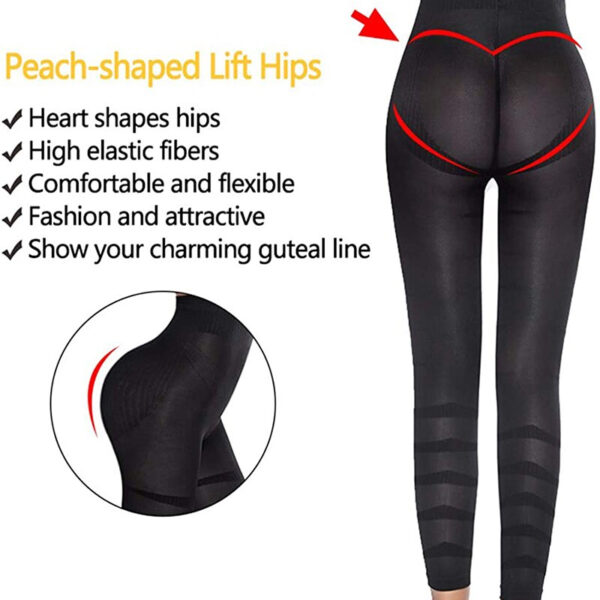 Leg Slimming Body Shaper Anti Cellulite Compression Leggings High Waist Tummy Control Panties Thigh Sculpting Slimmer Shapewear
