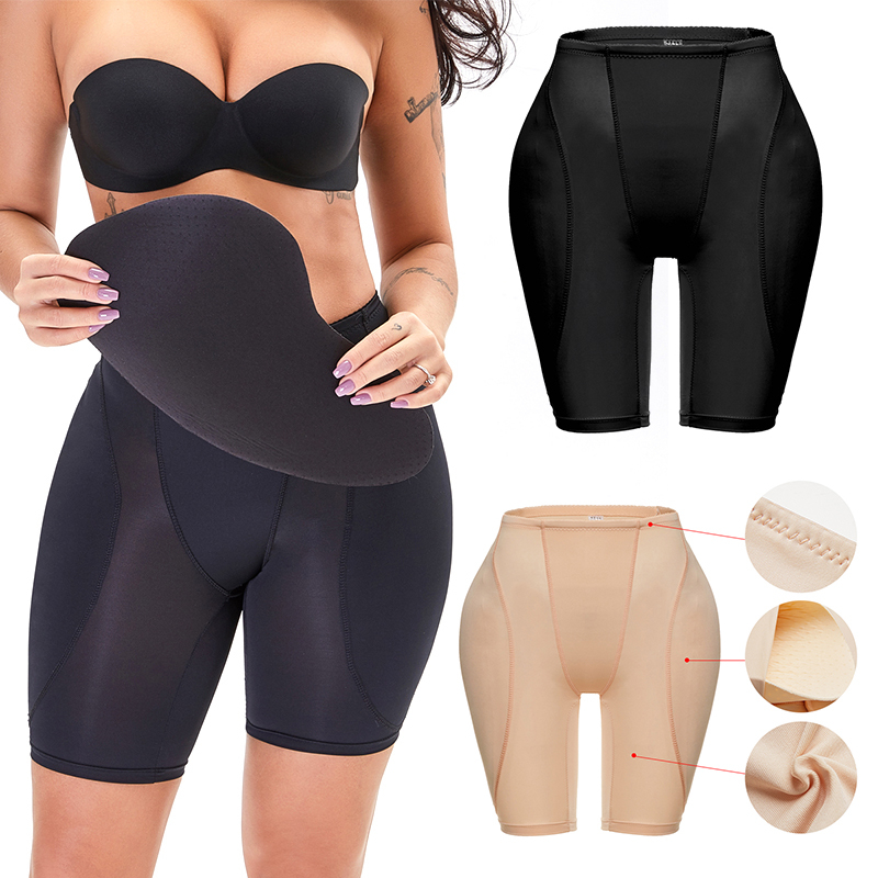 Women Butt Lifter Shapewear Waist Tummy Control Body Underwear Shaper Pad Control Panties Fake Buttocks Lingerie Thigh Slimmer