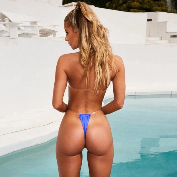 Sexy Swimwear Women Micro Bikini Thong Brazilian Bikinis Set G-string Swimsuits Swim Suit Beach Wear 2 Piece Bathing Suits