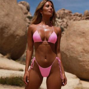 Extreme String Bikini Swimsuit Brazilian Women Mini Micro Sexy Swimwear Brazil Butt Cute Girls Swim Sex Bikini