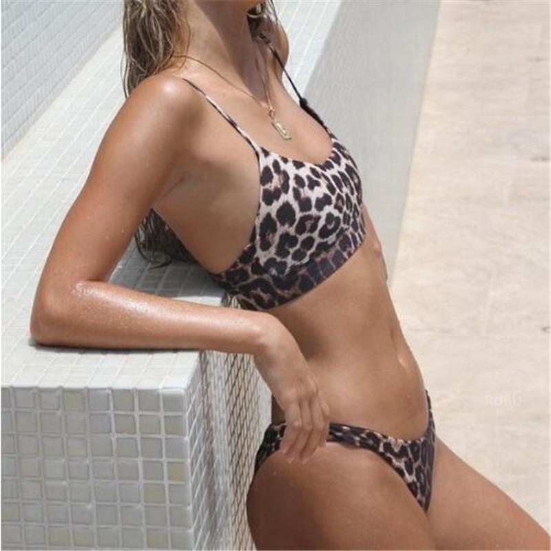 Sexy Printed Women Swimming Beach Bikini Suit