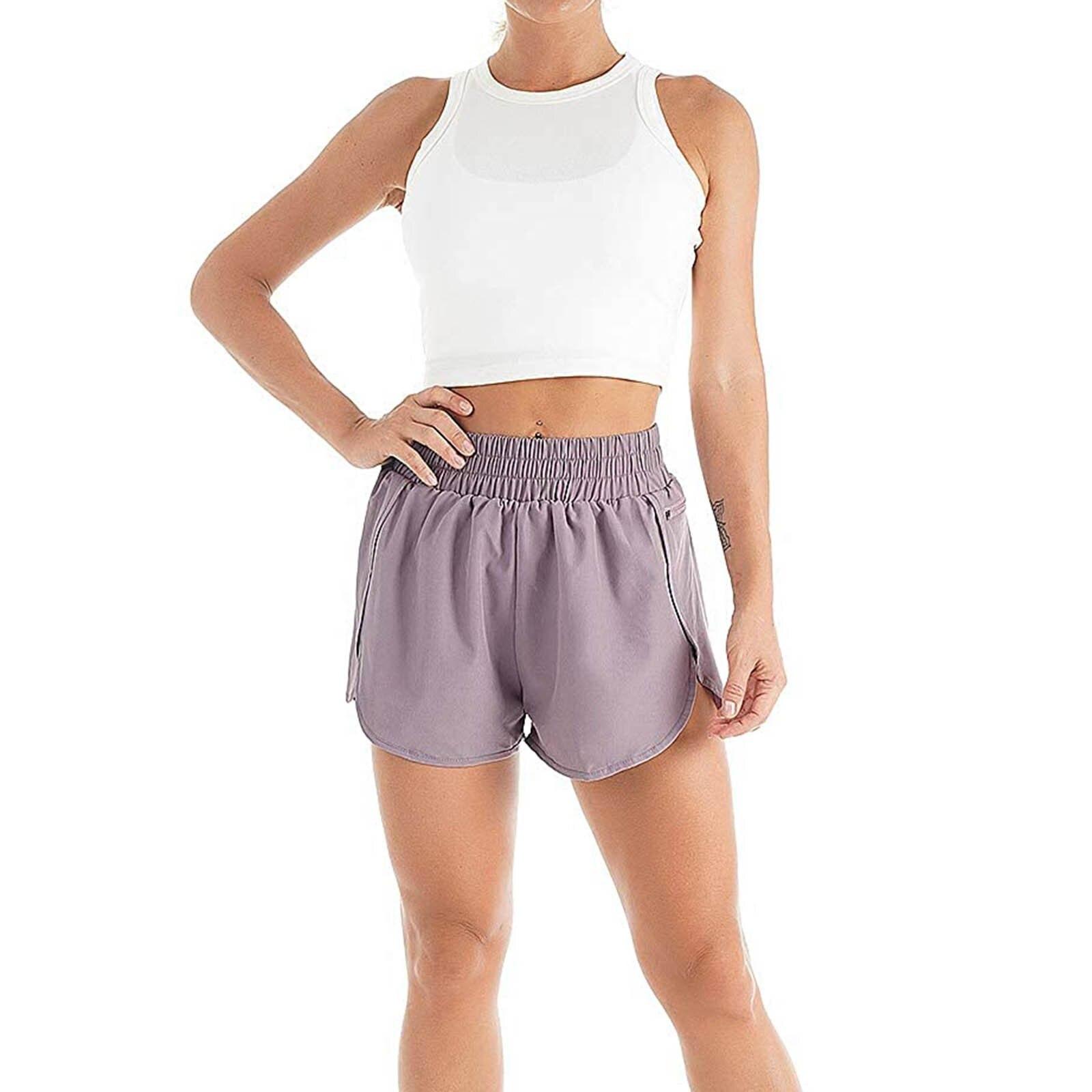 Elegant Sport Casual Workout Women Shorts