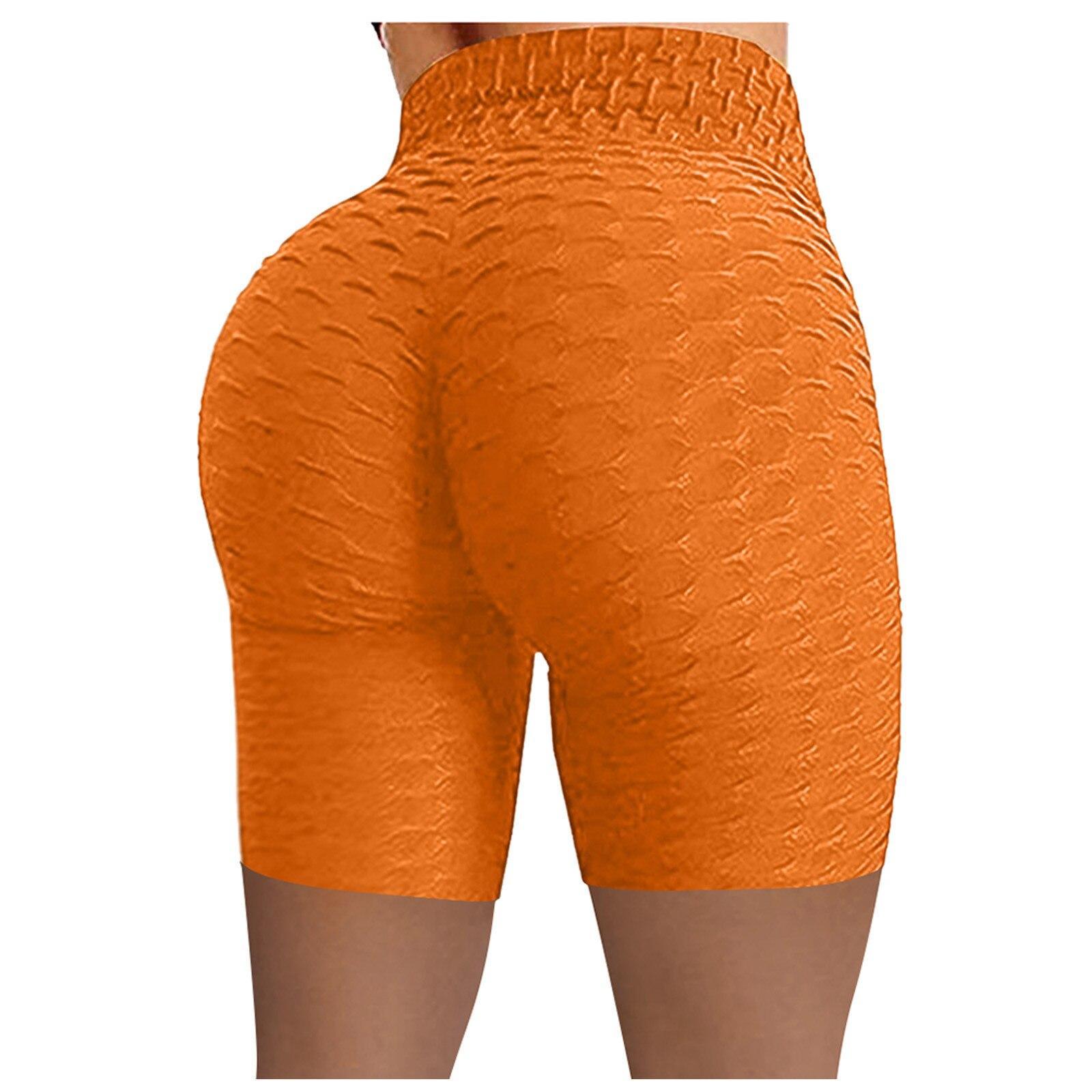 Push Up Leggings Exercises Women Slimming Shorts