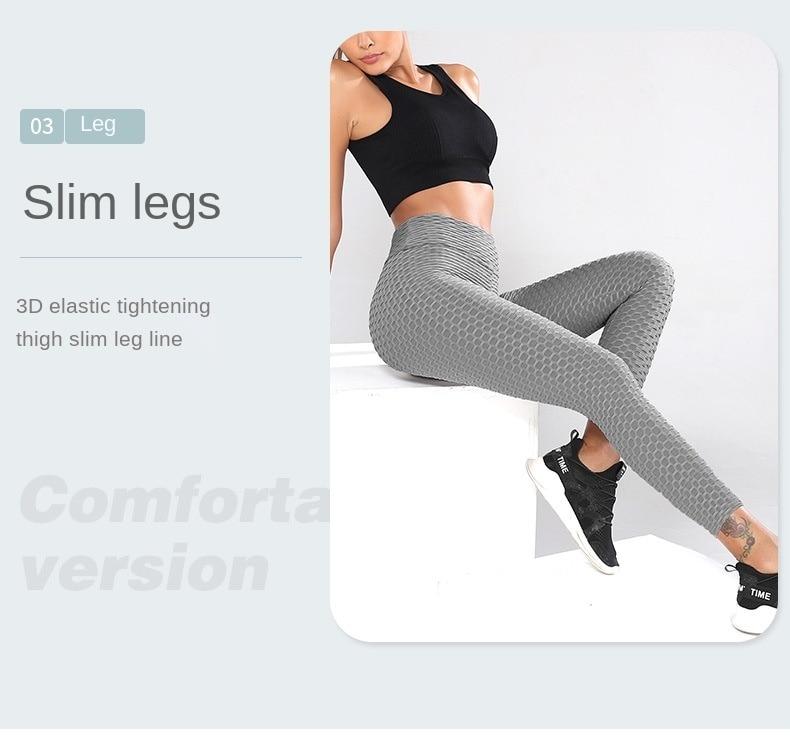 Fat Control Sport Fitness Push Up Women Pants